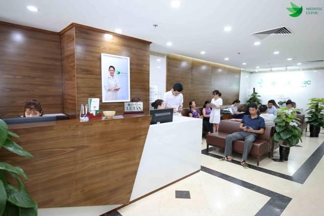 Một số hình ảnh khách hàng tại phòng khám Meditec 52 Bà Triệu hàng ngày